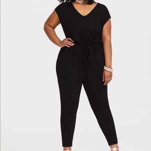 Torrid black jumpsuit